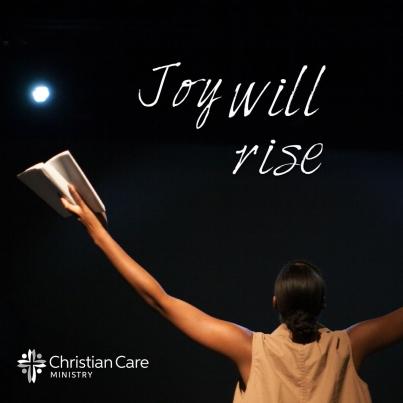 Joy will rise
